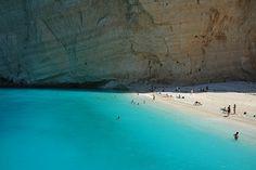 Spiaggia del relitto a Zante (Greece)