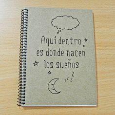 Libreta sueños | Ollo Shop
