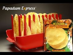 With the Papadum Express®, its simply Stack, Whack and Serve multiple Papadums, quick and easy. No wasting time!   https://www.papadumexpress.com  Here we cook, 10 Papads in 45 seconds!  Mother's Madras Pappadum. This recipe is a crispy classic.  Making Papads, Pappadums, Puppodums or Pappadams as easy as making popcorn with the Papadum Express® Microwave Cooking Tray.  Cook your guilt free Papads, Pappadums, Puppodums or Pappadams forever!  PROUDLY MADE IN SYDNEY, AUSTRALIA Registered…