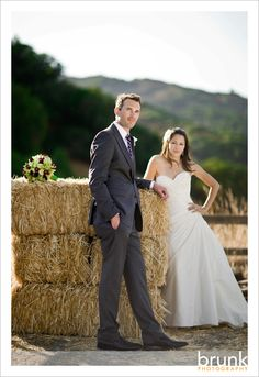 incorporate hay bales into the photography/planning?  Possibly Hoover hay?