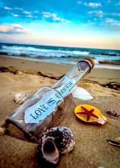 Message in a bottle.......