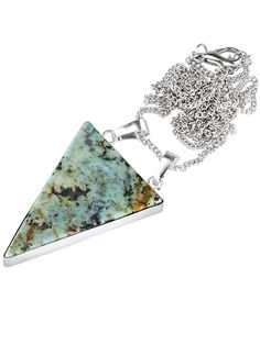 Bermuda Mystery Necklace Turquoise & Silver