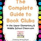 Book Clubs are the perfect way to get your readers reading! Your students will love the choice and autonomy of book clubs. You will LOVE the self-d...