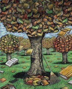 Book's trees
