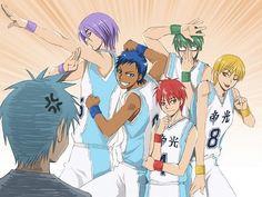 Kuroko no Basket ~~ Kuroko... You have the best teammates ever.