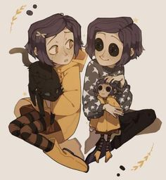 This is a beauty fan art from Coraline, my best congratulations from the person how drawing this! Coraline Jones, Coraline Art, Pretty Art, Cute Art, Photo Manga, Eyes Artwork, Cartoon Fan, Cartoon Movies, Cartoon Characters