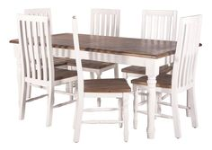 Coventry 1800 Dining Package (Table: 1800W x 950D x 770H mm; Chairs: 470W x 500D x 1080H mm) RRP $1,569