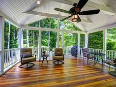 Airy deck in this #Annandale #VA #addition