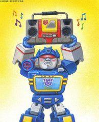 Soundwave & Blaster Transformer Parody by Luis Diaz