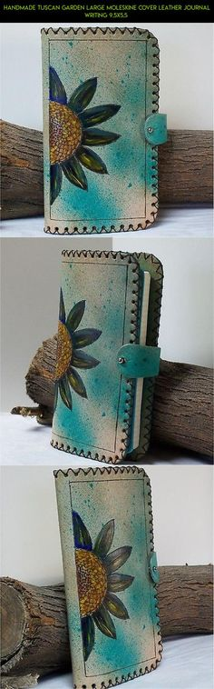 Handmade Tuscan Garden Large Moleskine Cover Leather Journal Writing 9.5X5.5  #fpv #journal #technology #racing #kit #moleskine #drone #products #tech #plans #gardening #camera #parts #shopping #gadgets