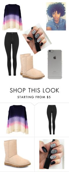 """"""""""" by najiyahbrown on Polyvore featuring WithChic, Topshop, UGG Australia, Incase, women's clothing, women's fashion, women, female, woman and misses"""