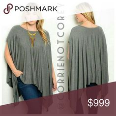 •coming soon• plus size swing tunic Like this listing to receive a notification once this arrives.  I love tunics like this, they make me feel so chic! Perfect with your favorite statement necklace. Tops Tunics
