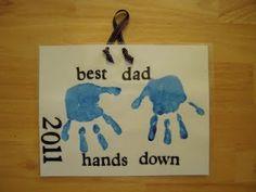 pinterest preschool fathers day ideas | Father's day idea.