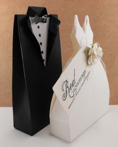 Free SVG File, Bride and groom gift bags