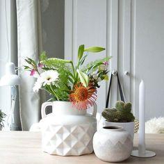Foto door @kaatje_karin  Best-budget-buy; deze witte vaas (20 x 18 cm) is voor 799 te koop bij Wibra. Ook verkrijgbaar in het taupe. Bovendien zijn er ook andere vazen met hetzelfde patroon te koop bij Wibra prijzen vanaf 149.