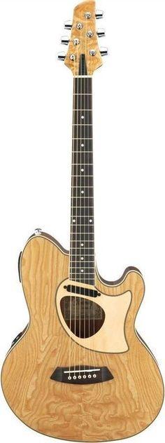 Ibanez TCM50 Talman Series Double-Cutaway Acoustic-Electric Guitar