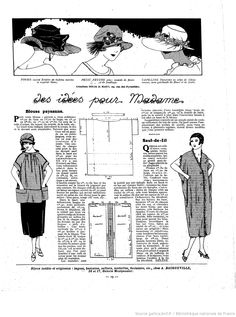 La Femme de France 1921/06/19 p. 19 Maternity clothes?