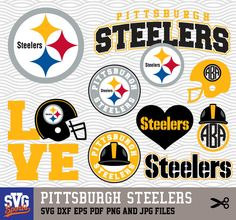 free nfl svg files for cricut Pittsburgh Steelers Logo, Dallas Cowboys Logo, Pitsburgh Steelers, Steeler Football, Football Season, Steelers Images, Cricut Christmas Ideas, Cricut Svg Files Free, Diy And Crafts