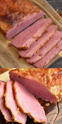 The BEST Oven Baked Corned Beef Brisket Only 3 Ingredients and you get an amazing oven baked corned beef! Amazing, tender corned beef brisket cooked in the oven with just three ingredients. This brisket is flavorful, easy, and comes out so tender. Cooking Corned Beef Brisket, Corned Beef Recipes, Pork Recipes, Cooking Recipes, Corned Beef Hash, Crockpot Cabbage Recipes, Slow Cooker Recipes, Best Baked Corned Beef Recipe, Baked Corn Beef Brisket Recipe