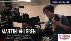 Martin Ahlgren, House of Cards Season 3 DoP, on lighting, lensing and more! http://www.motionvfx.com/B3976  #houseofcards #filmmaking #dop