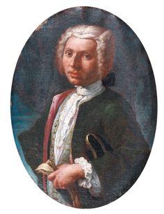 The Athenaeum - Portrait of Man (Giuseppe Bonito - )