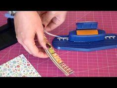 Herramientas Scrapbooking; troqueladoras de mano - YouTube
