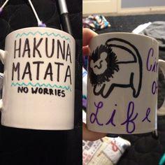 lion king diy mug