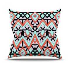 Found it at Wayfair.ca - Geometric Mountains by Pom Graphic Throw Pillow