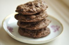 Double Chocolate Espresso Cookies - substitute packet of Starbuck's Via instant coffee for espresso powder