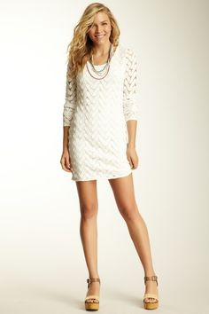 Free People Wild Things Mini Dress - Hautelook.com $128-62% = $50