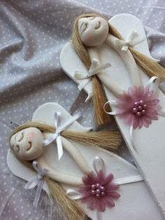 Pasja dekorowania                                                 : Aniołki dla Mamy