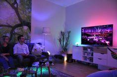 Lichtshow im Wohnzimmer: Mit Philips Hue und The Voice of Germany