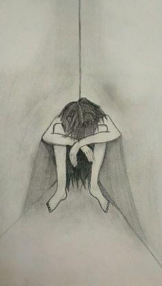 Girl in the dark corner- arthy