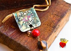 My heart   necklace /pendant by irinimichopoulou on Etsy, $37.50