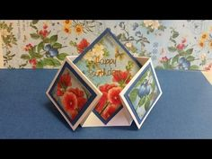Double Dutch Fold Card - YouTube