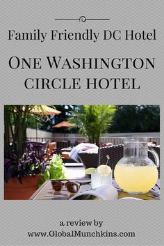 Thinking of taking the family to Washington DC? Check out this Family Friendly DC hotel. One Washington Circle Hotel is located right in the center of DC, surrounded by all the sites.   Walking distance to Georgetown, the National Mall, great restaurants, the metro, grocery stores and more.   Not to mention spacious accommodations, great restaurant and a pool!