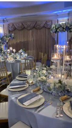 Luxury Wedding Decor, Romantic Wedding Decor, Outdoor Wedding Decorations, Wedding Table Centerpieces, Wedding Flowers, Quince Centerpieces, Cascading Bridal Bouquets, Winter Centerpieces, Quince Themes