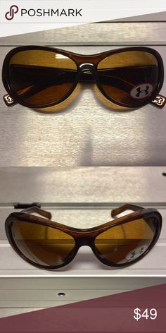 NEW Under Armour Pulse sunglasses Under Armour Pulse sunglasses, tortoise brown color, brown lenses, 100% UV. New , never worn. Under Armour Accessories Sunglasses