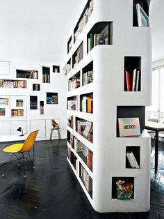 Trendy Home Library Shelves Interiors Ideas Home Library Decor, Home Library Design, Modern Library, Home Libraries, House Design, Library Furniture, Library Room, Modern Bookshelf, Built In Bookcase
