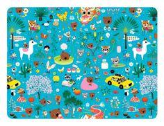Mouk placemat by Petit Jour Paris | the KID who