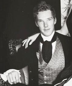 benedict cumberbatch--stop it, you're just so dang cute! Stop!