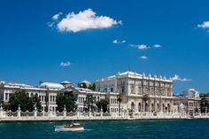 Vue du Bosphore du Palais Dolmabahçe Istanbul