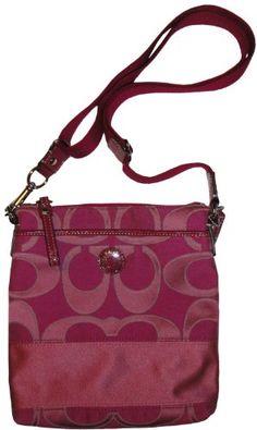 Women's Coach Purse Handbag Signature Sateen « Clothing Impulse