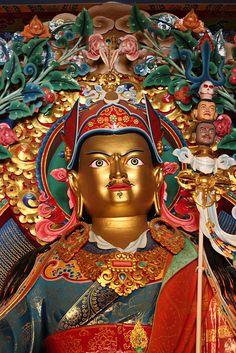 Padmasambhava, Guru Rinpoche Statue by Saraha Nyingma Buddhist Institute, via Flickr