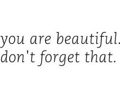 I need to remember this when I'm having a bad hair day!