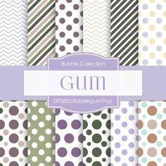 Bubblegum Pop Digital Paper DP3803