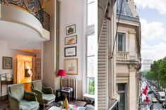 This three-storey villa in the 14th arrondissement – $3,330 per night | 13 Outrageously Beautiful Paris Apartments You Can Rent On AirBnb
