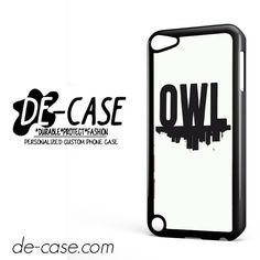 Owl City Logo DEAL-8353 Apple Phonecase Cover For Ipod Touch 5