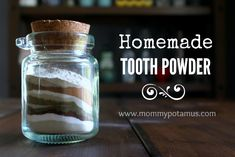 Four reasons to break up with toothpaste, plus a whitening tooth powder recipe. Ingredients: 4 tablespoons bentonite clay, 2 teaspoons baking soda, 1 1/2 teaspoo