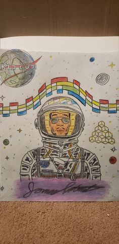 Colored drawing of Kid Cudi's artwork for the song Enter Galactic (Love Connection) ( drawn by me) Famous Movie Quotes, Quotes By Famous People, People Quotes, Hip Hop Quotes, Rap Quotes, Lyric Quotes, Maroon 5 Lyrics, Love Connection, Counting Stars